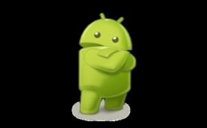 Приложение HelloAndroidApp, запущенное в эмуляторе