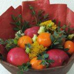 Как выглядит букет из фруктов?